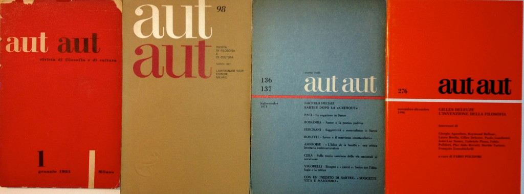 aut aut covers